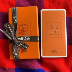 NEW Hermès Cartes À Nouer Knotting CARDS #5 SEALED